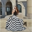 Arianna Glam Chic Swirl Striped Maxi Dress thumbnail 1