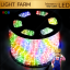 ไฟสายยาง ท่อกลม LED 100 m สีรวม RGB thumbnail 1