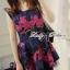 Colourful Embroidered Mini Dress thumbnail 4