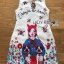 Anne Dreamy Fantasy Printed Dress thumbnail 7