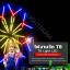 หลอดไฟงานวัด LED (ไฟนิ่งไม่กระพริบ) สีฟ้า / หลอดไฟ T8 หลอดสี thumbnail 2