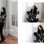 Chic black rose blouse thumbnail 7