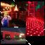 ไฟตาข่ายเล็ก ไฟตาข่าย LED ขนาด 1.5 x 1.5 เมตร ไฟประดับตกแต่ง thumbnail 7