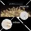 ไฟกระพริบ LED สีวอมไวท์ ไฟประดับตกแต่ง ตามงานเทศกาลต่างๆ thumbnail 4