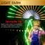 หลอดไฟงานวัด LED (ไฟนิ่งไม่กระพริบ) สีธงชาติ / หลอดไฟ T8 หลอดสี thumbnail 8