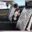 ชุดคลุมเบาะรถยนต์ รูปลิงลายเสือ ขาว-ดำ thumbnail 3