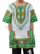 เสื้อลายชนเผ่า เสื้อลายจังโก้ สีผสมเขียว