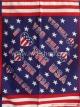 ผ้าเช็ดหน้าลายอเมริกัน