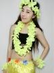 ชุดสร้อยฮาวาย พวงมาลัยดอกไม้เหลือง