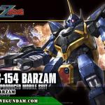 เปิดจอง HG 1/144 BARZAM