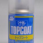 B503 Mr Topcoat เคลียร์ด้าน (Flat) 86ml (สูตรน้ำ)