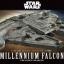 1/144 MILLENNIUM FALCON (THE FORCE AWAKENS) thumbnail 1