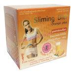 Sliming Diet Orange Plus เครื่องดื่มรสส้มลดน้ำหนัก รับประกันของแท้ราคา 110 บาท