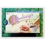 Hamburger Cappucino กาแฟแฮมเบอร์เกอร์ ผลิตภัณฑ์กาแฟปรุงสำเร็จรูป ตรา แฮมเบอร์เกอร์ ราคา150 บาท