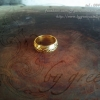 แหวนถมทองลายไทย หน้ากว้าง 8 mm. โดยเครื่องถมนคร by green