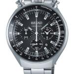นาฬิกา Seiko มดดำ Bullhead ในตำนาน SCEB009 SPIRIT SMART II Watch Men Chronograph