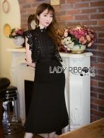 Rebecca Sweet Elegant Black Lace Self-Portrait Dress