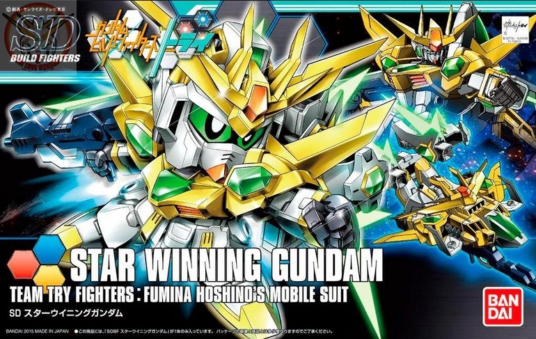 SDBF STAR WINNING GUNDAM