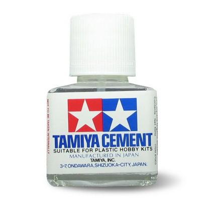 TA87003 Tamiya Cement 40ml (สูตรแห้งช้า)