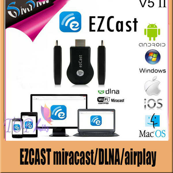 HDMI Miracast TV DLNA Airplay WiFi Display Dongle Adapter for IOS iPhone Android