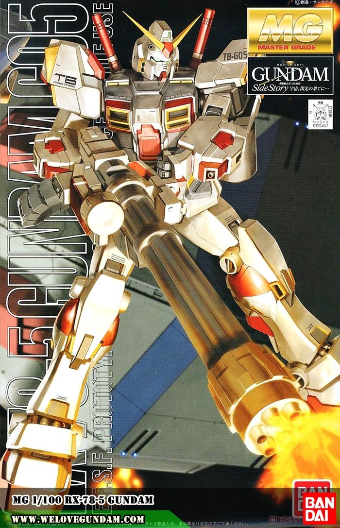 MG 1/100 RX-78-5 GUNDAM