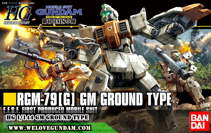 HG 1/144 GM GROUND TYPE