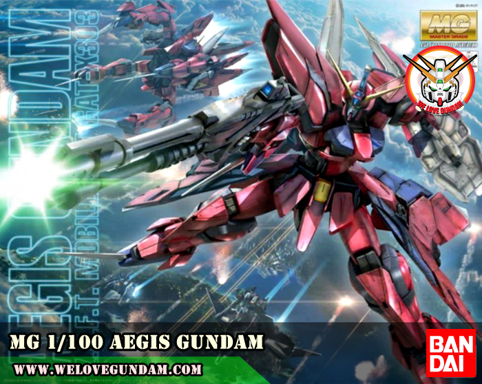 MG 1/100 AEGIS GUNDAM