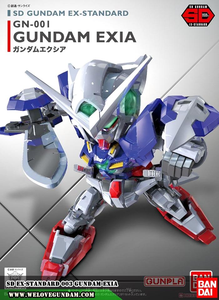 SD EX-STANDARD 003 GUNDAM EXIA
