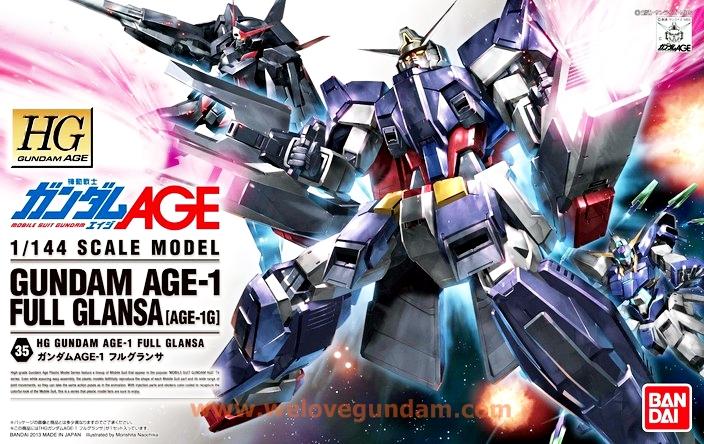 HG 1/144 Gundam AGE-1 Full Glansa