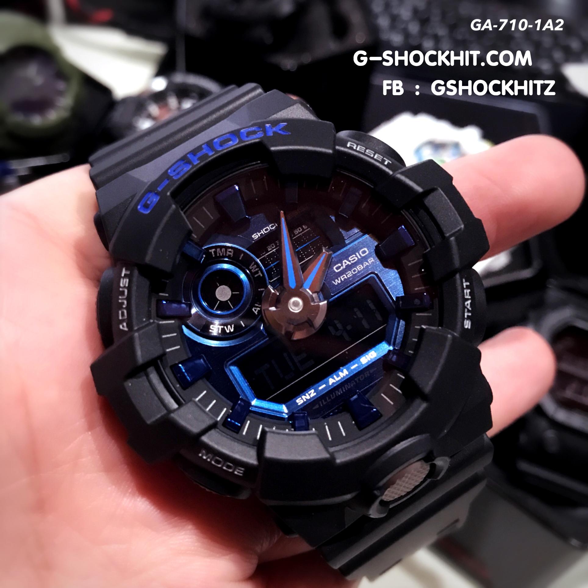 low priced 56158 1da0c นาฬิกา CASIO G-SHOCK รุ่น GA-710-1A2 ของแท้ประกันศูนย์ CMG 1ปี