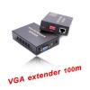 ตัวแปลงสัญญาณ VGA extender 10OM ต่อผ่านสายlan with Audio