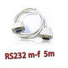 สายserial RS232 comport DB9 Male Female 5m -white
