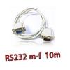 สายserial RS232 comport DB9 Male Female 10m -white