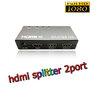 HDMI splitter เข้า1ออก2จอ FULL HD 3D เวอร์ชั่น1.4ตัวเล็ก -black