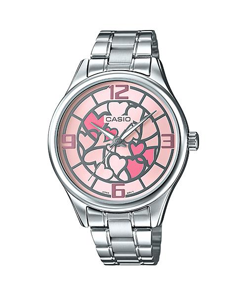 นาฬิกาข้อมือผู้หญิงCasioของแท้ LTP-E128D-4ADF CASIO นาฬิกา ราคาถูก ไม่เกิน สองพัน