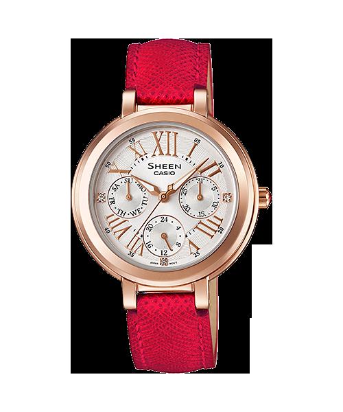 CASIO SHEEN นาฬิกาข้อมือ SHE-3034GL-7B