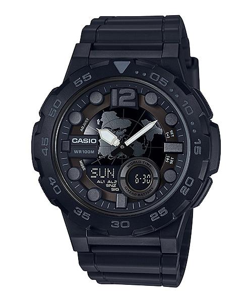 Casio นาฬิกา รุ่น AEQ-100W-1BV CASIO นาฬิกา ราคาถูก ไม่เกิน สองพัน