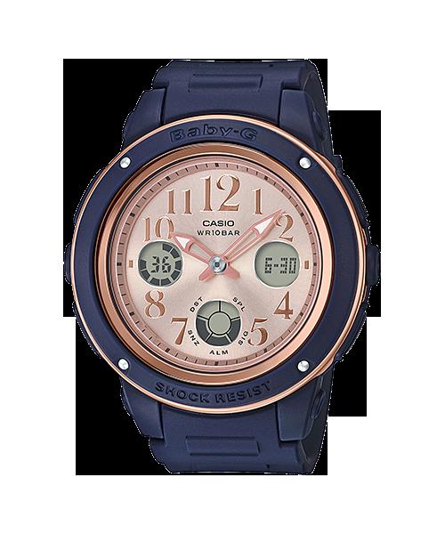 นาฬิกา Casio Baby-G ของแท้ รุ่น BGA-150PG-2B1