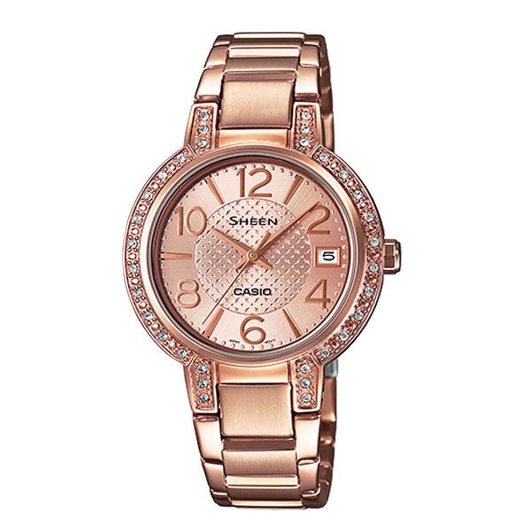 CASIO SHEEN นาฬิกาข้อมือ SHE-4804PG-9AUDR