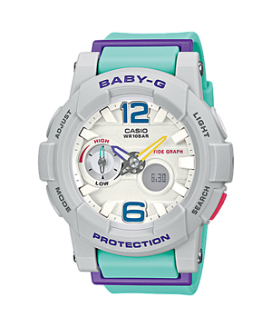 BaByG Baby-Gของแท้ ประกันศูนย์ BGA-180-3B เบบี้จี นาฬิกา ราคาถูก ไม่เกิน สี่พัน