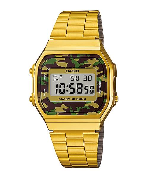 นาฬิกาข้อมือผู้หญิงCasioของแท้ A-168WEGC-3DF CASIO นาฬิกา ราคาถูก ไม่เกิน สามพัน