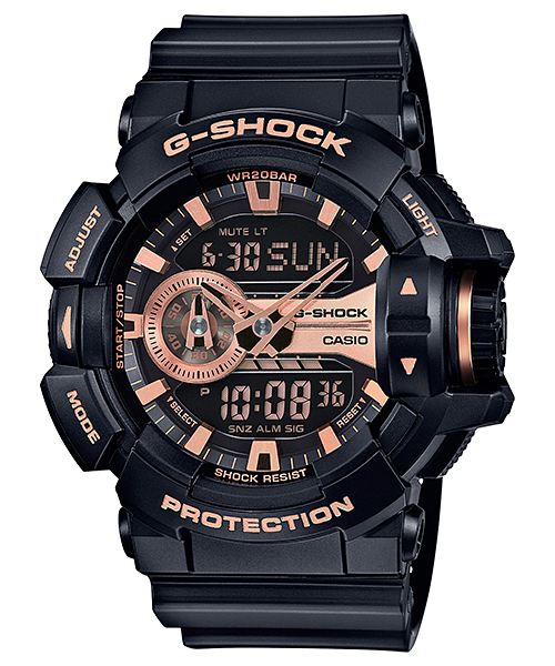 GShock G-Shockของแท้ ประกันศูนย์ GA-400GB-1A4 ThankYouSale จีช็อค นาฬิกา ราคาถูก ราคาไม่เกิน ห้าพัน