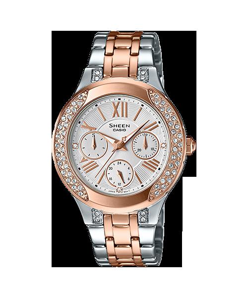 CASIO SHEEN นาฬิกาข้อมือ SHE-3809SG-7AUDR