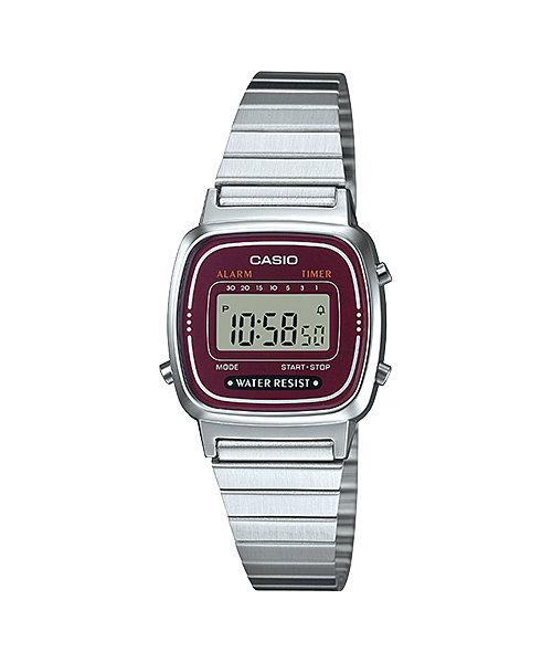 นาฬิกาข้อมือผู้หญิงCasioของแท้ LA670WA-4