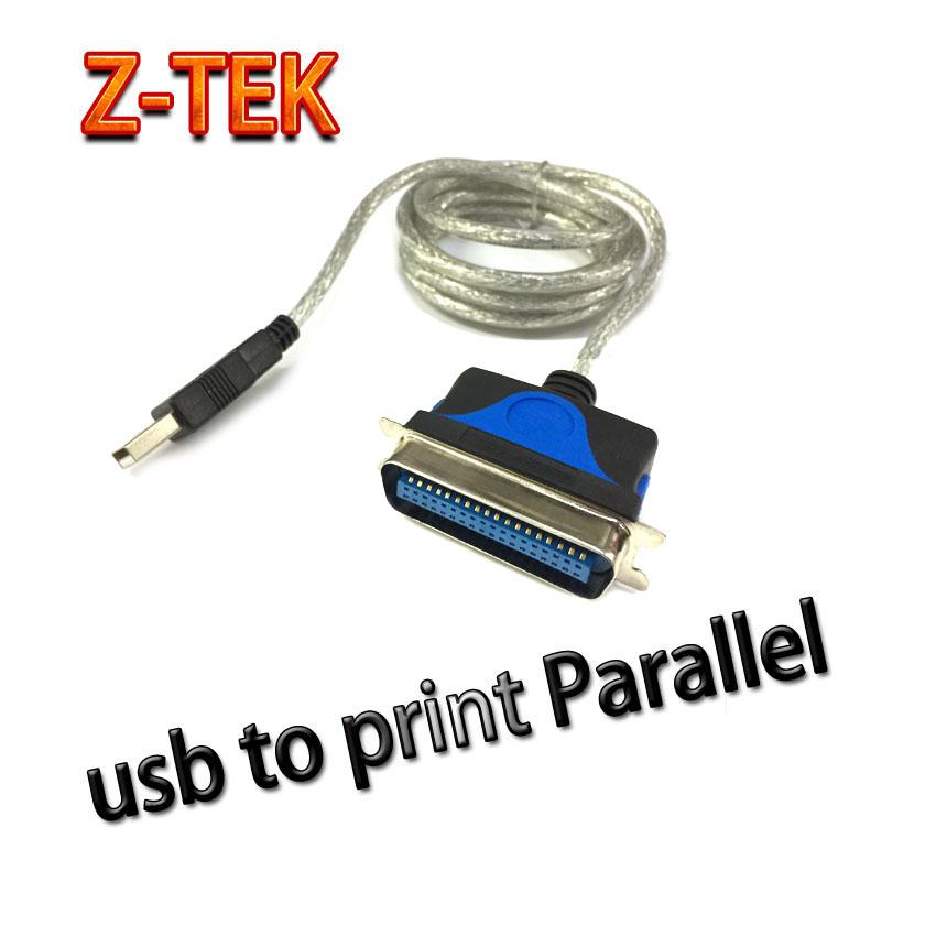 Z-TEKสายแปลง usb to Parallel 1284 print ต่อกับเครื่องพิมพ์รุ่นเก่า
