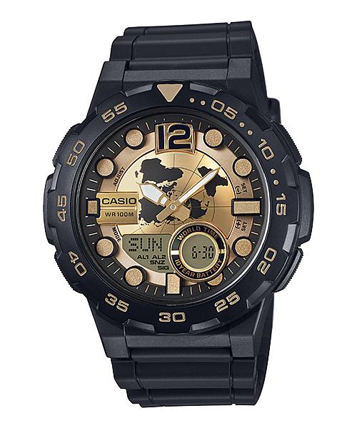 Casio นาฬิกา รุ่น AEQ-100BW-9AVDF