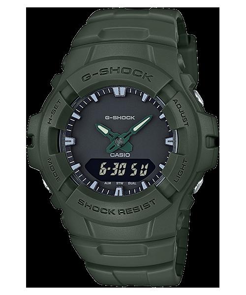 GShock G-Shockของแท้ ประกันศูนย์ G-100CU-3A จีช็อค นาฬิกา ราคาถูก ราคาไม่เกิน สี่พัน