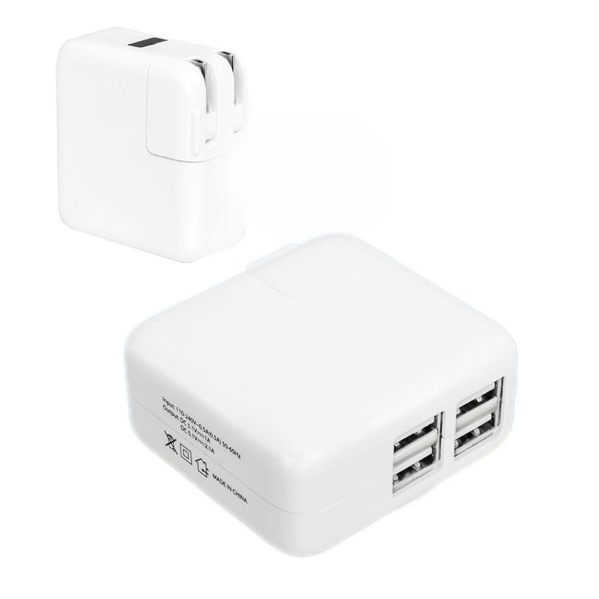 Adapterที่ชาร์จ ipad iphone Smartphone usb 4ช่อง มีไฟ