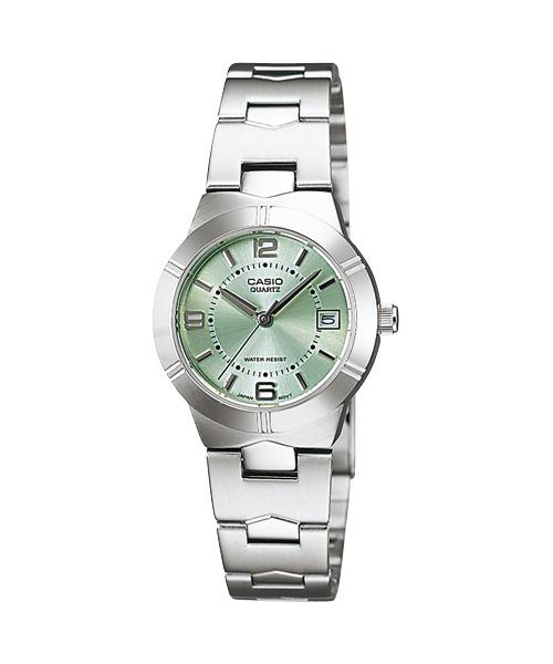 นาฬิกา ข้อมือผู้หญิง casio ของแท้ LTP-1241D-3ADF CASIO นาฬิกา ราคาถูก ไม่เกิน สองพัน