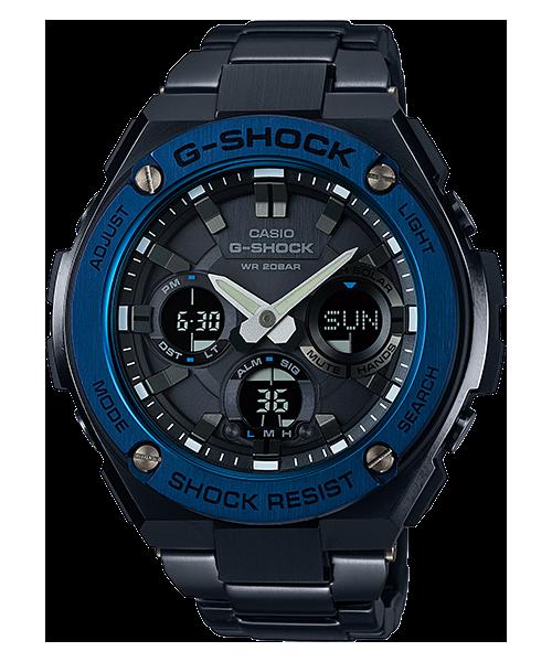 GShock G-Shockของแท้ ประกันศูนย์ G-STEEL TOUGHSOLAR GST-S110BD-1A2
